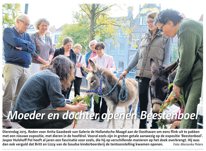 opening beestenboel in de Goudse Post