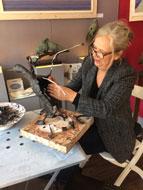 Jeanette Jansen Bronzen Beelden.De Hollandsche Maagd